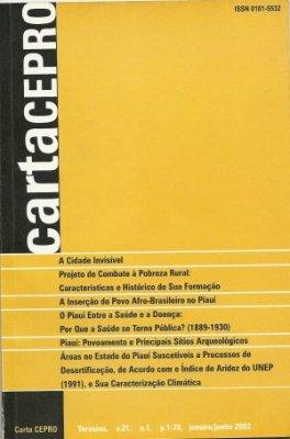 Capa Carta Cepro, 22ª Ed.